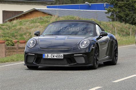 New 911 Porsche by Proof A New Porsche 911 Speedster Is On The Way