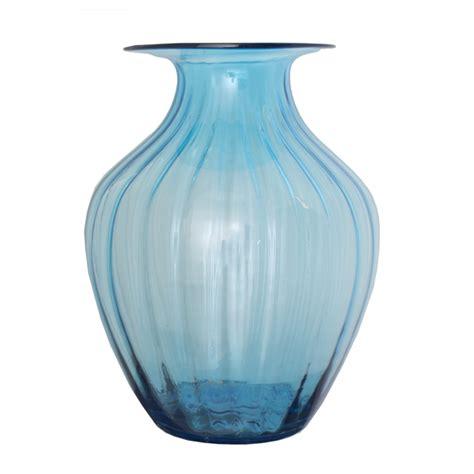 Aqua Glass Vase aqua glass vase 15x15x20 5 veronneau plants and decor