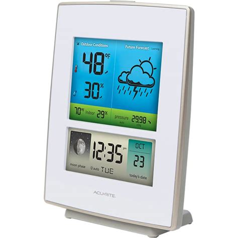 acurite 02030rm wireless color weather station acurite