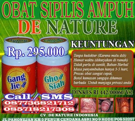 Obat Herbal Sipilis De Nature obat de nature penyakit sipilis pada wanita