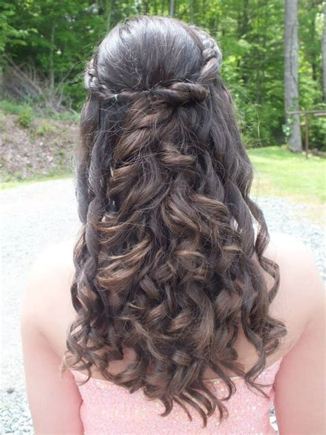 graduation dance hairstyles my hair for our 8th grade dance hairstyles