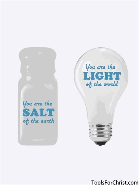 Salt And Light Verse by Matthew 5 13 16 Bible Verses You Are The Salt Of The