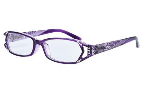 agstum womens quality readers hinges eyeglasses