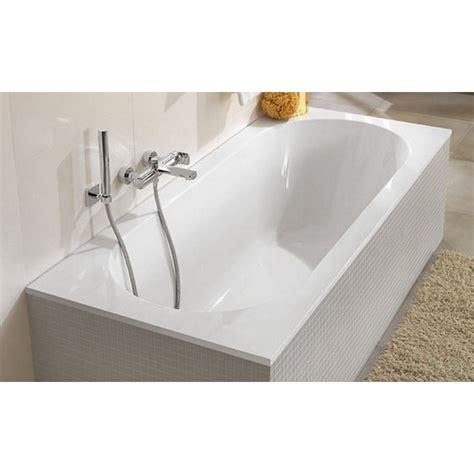 baignoire oberon villeroy et boch villeroy et boch oberon baignoire 170x75cm quaryl rectangulaire avec pieds blanc ubq170obe2v
