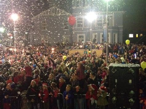 thousands turn out in wicklow for the turning on of the