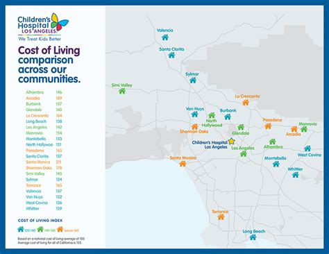 california cost of living map this map shows why the plan cost of living