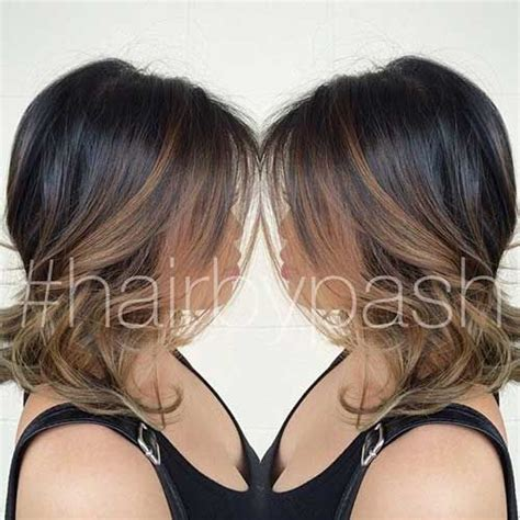 15 balayage bob hair bob hairstyles 2015 short 33 best images about hair on pinterest hair hairstyles