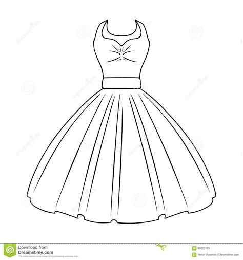 fashion doll outline dress outline template www imgkid the image kid