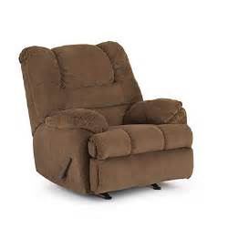 Simmons Mocha Sofa Champion Mocha Recliner