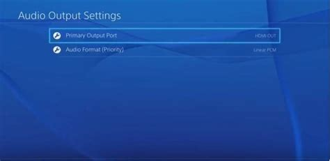 format audio hdmi bitstream setting your sony playstation 4 to output bitstream audio