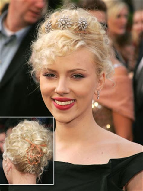 Scarlett Johansson And Awful Ocscar Hairdo | oscar 2012 the devil is in the details fashionmothers say