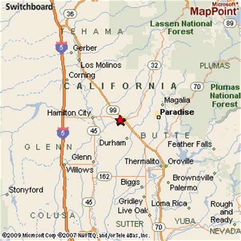 california map chico chico california