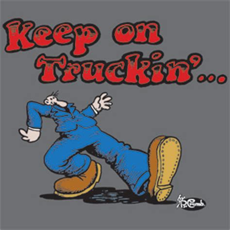 Color Blind T Shirt Keep On Truckin T Shirt