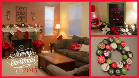 home decorations pictures 2015 christmas home decor tour youtube