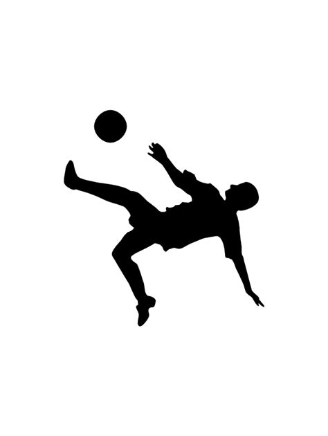 soccer play football silhouettes football silhouettes design