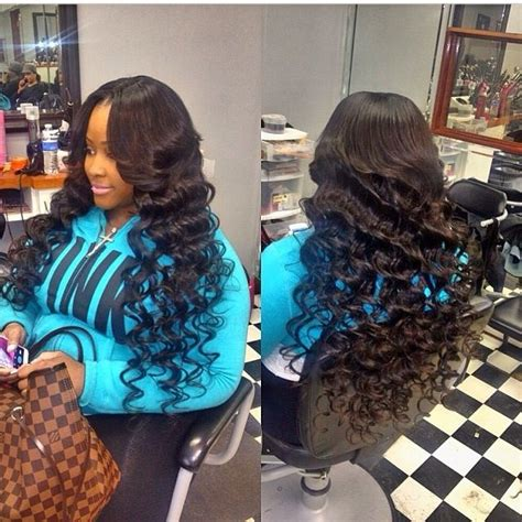 Sew In With Tightcurls | sew in with tight curls hair dream pinterest best