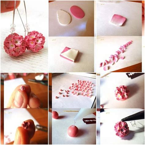 step by step diy crafts how to make delicate flower earrings step by step diy tutorial thumb how to