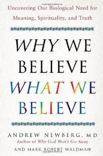 why god won t go away brain science and the biology of belief books suggested reading why we believe what we believe