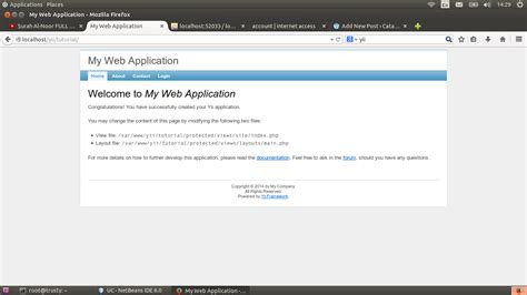 tutorial php yii install yii framework dengan netbeans di ubuntu rizkiunix