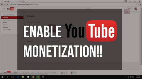 youtube new layout 2016 how to enable monetization on youtube new layout 2016