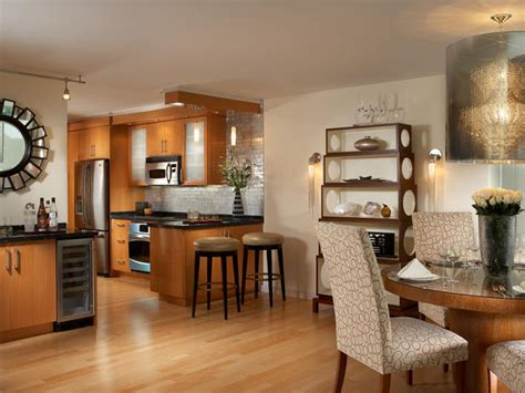 Tile In Dining Room And Kitchen Open Concept Kitchen And Dining Room Hgtv
