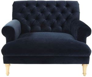so pretty cobble hill prince tufted chair and a half from
