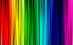 Vertical Striped Shower Curtains - 35 rainbow backgrounds to make you feel lively creativefan