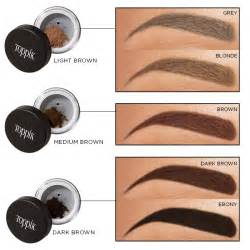 brow color hair toppiks learn how to shape eyebrows with the toppik