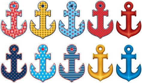 Nautical Decorations For Home Anchors Accents Tcr5354 Teacher Created Resources