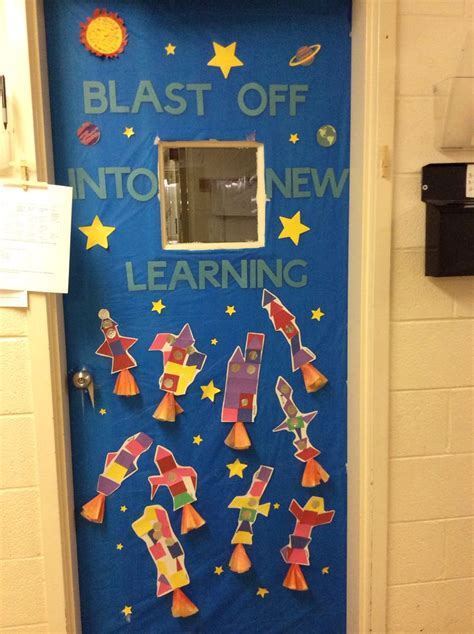 space themed door decorations space themed door decoration outer space