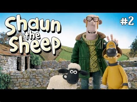 film kartun shaun the sheep terbaru video kartun lucu shaun the sheep bermain freesbies