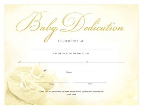 baby christening certificate template printable baby dedication certificate baby dedication