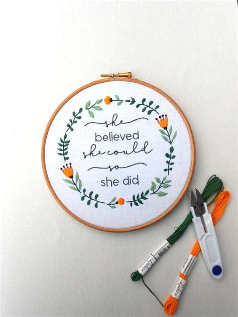 embroidery quotes best 25 modern embroidery ideas on