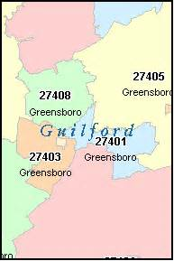 greensboro carolina nc zip code map downloads