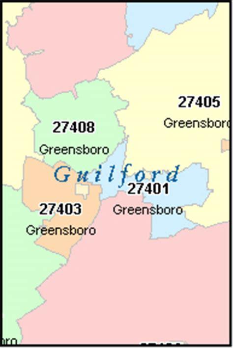 greensboro zip code map greensboro carolina nc zip code map downloads