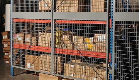 Racking Nets by Spaceguard Rack Safety Systems Enclosures Isda Network