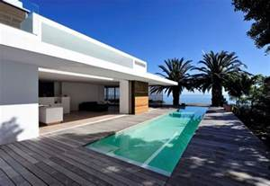 impressive modern home in south africa by luis mira