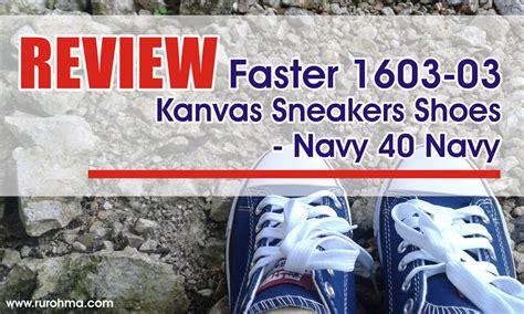 Faster Sepatu Sneakers Wanita 1603 09 L Blue review faster 1603 03 kanvas sneakers shoes navy 40 navy fastabiqul khoirots