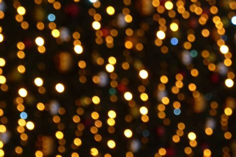 white christmas lights bokeh wallpaper