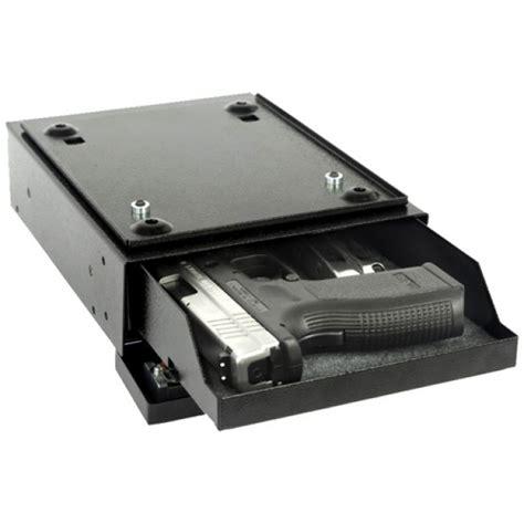 under desk gun safe v line 2597 s deskmate under desk pistol safe with