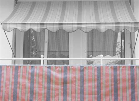 markisen paradies gutschein balkonbespannung 90 cm design nr 1300 braun terra
