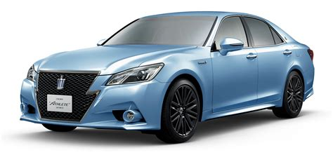 Toyota Crown 2015 Toyota Crown 60th Anniversary Marked With Special Editions