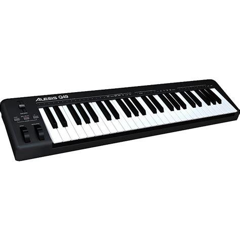 Alesis Q49 Keyboard Alesis Q49 Usb Midi Keyboard Controller Musician S Friend