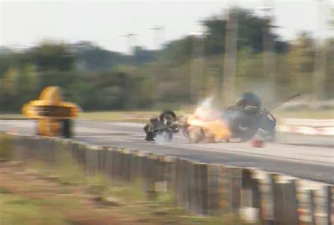 video john umlaufs frightening fiery fuel altered crash