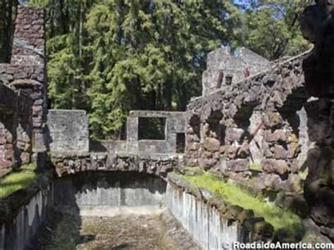 Wolf House by S Wolf House Ruins Glen California