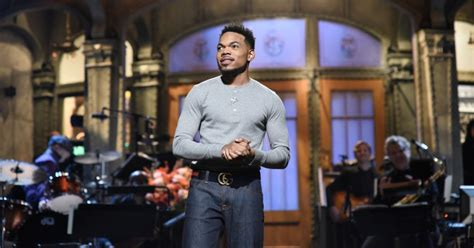 3 Sketches Snl by Chance The Rapper On Snl 3 Sketches You To See