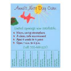 daycare flyer templates free child care flyer day care flyer w tear info
