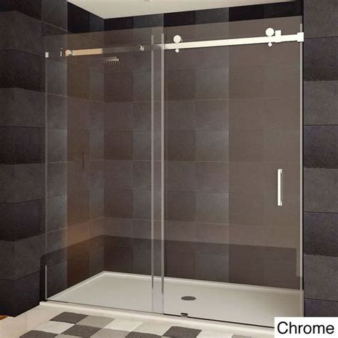 Image Ultra Shower Door Lesscare Ultra B 44 48x76 Inch Semi Frameless Sliding Shower Doors By Lesscare Models