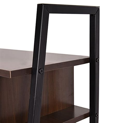 Ladder Office Desk Tangkula Ladder Shelf With Desk Leaning Bookcases Home Office Furniture Buy In Uae