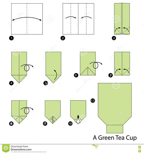 Origami Tea Cup - origami tea cup images craft decoration ideas
